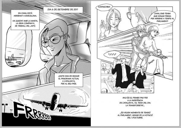 presentació còmic censurat a Girona